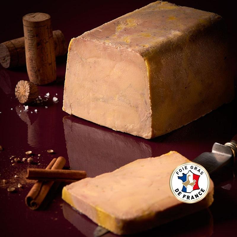 Tarrina bloc de foie gras...