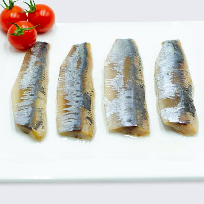 Lomos de sardina ahumada en aceite -...