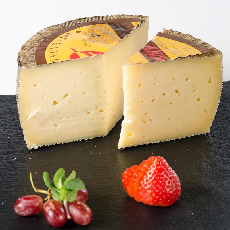 Medio queso curado mezcla...